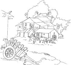 Village Coloring Page 3 Exciting Pages Color On
