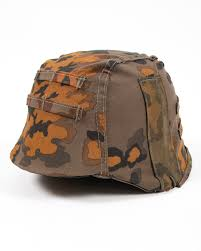 100 M44.com M44 Waffen SS Oakleaf Camouflage Helmet Cover ATF