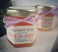 Jam Favors Wedding Favors Rustic Jam Favors Bridal