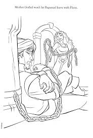 Coloriage Raiponce Disney Creative Tangled Coloring Pages
