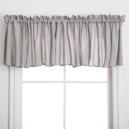 Ricardo Glasgow Window Valance - 84 x 15 Grey