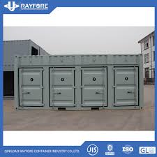 100 Cheap Shipping Container Hot Item Csc Certificated 20 One Side Door Open Side Storage