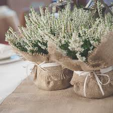 Rustic Wedding Round Table Decorations Elegant Decoration Ideas Burlap With