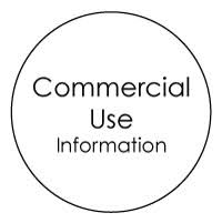Commercial Use Info Icon