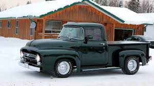 100 F100 Ford Truck 1956 Pickup Build Photo Compilation