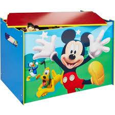 coffre à jouets disney mickey pas cher à prix auchan