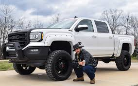99 Luke Bryan Truck Kid Rock Receives Custom Built Rocky Ridge GMC Sierra Pickup