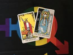Magician And Priestess Cards In Rider Waite Tarot Deck Photo By Coby Michael