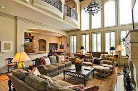 Spectacular Bedroom House Plans by Spectacular Two Story Family Room 36145tx Architectural