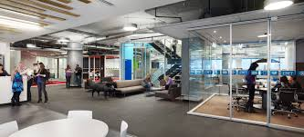 An Example From The Corus Entertainment Headquarters In Toronto Ontario Of How Informal Gathering Spaces And Collaboration Can Exist