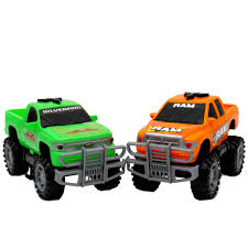 Kid Connection Fast Trax GM Trucks, 2-Pack - Walmart.com