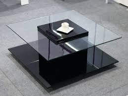 table basse carree en verre table basse contemporaine en verre