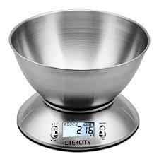 balance de cuisine avec bol etekcity balance de cuisine electronique 5 kg 1g en acier inox