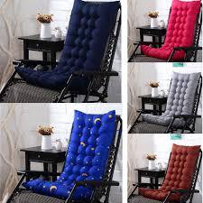 GZHOUSE Recliner Rocking Thickening Sofa Rattan Chair Cushion Thicken Warm