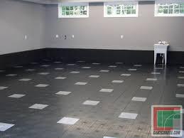 garage floor garage renovation update tile flooring