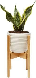 blumentopfhalter aus holz moderne pflanzgefäße dekoration halter für drinnen wohnzimmer kamin küche schlafzimmer holzständer für