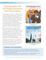 WORKSHEETS Teaching About The Civil Rights Movement