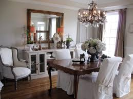 Dining Room Decorating Ideas On A Budget Black Stained Pine Wood Table Chairs Set