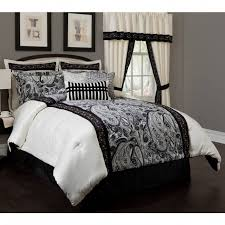 Black And White Paisley forter Sets