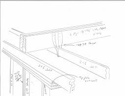 Vaulted Ceiling Joist Hangers by I U0027m Installing An Lvl Beam Above The 2 X 6 Ceiling Joists Stick
