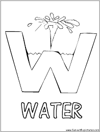 Lovely Water Coloring Pages 32 For Free Colouring With