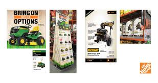Home Depot Tractor Mowers & Pressure Washer Product Cards