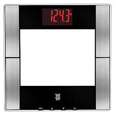 Bathroom Scale Bed Bath And Beyond by Weight Watchers By Conair Glass Digital Body Analysis Red Led