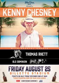 Kenny Chesney Old Blue Chair Live by Kenny Chesney Announces Foxborough Show On 2017 At Gillette