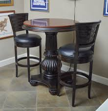 Havertys Dining Room Chairs by Havertys Furniture Pub Table With Hillsdale Stools Ebth