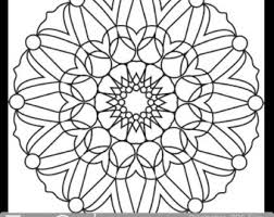 Pretty Looking Coloring Book Pages Printable Circular Mandala Easy For Adults Big Spaces PDF Design