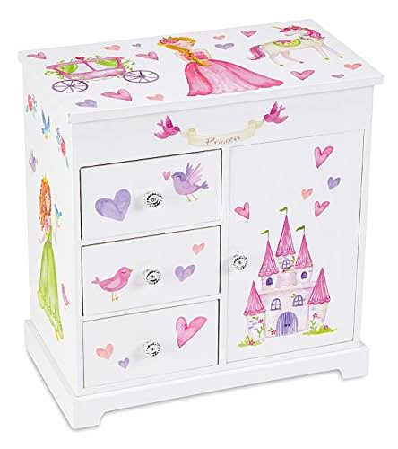 JewelKeeper Unicorn Musical Jewelry Box with 3 Pullout Drawers, Fairy Princess and Castle Design, Dance of The Sugar Plum Fairy