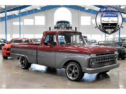 1965 Ford F100 For Sale | ClassicCars.com | CC-861833 1965 Ford F100 Pickup Presented As Lot F165 At Monterey Ca Icon Creates Modern Classic From Fseries Crew Cab Fordtruck F250 65ft9974d Desert Valley Auto Parts Hot Rod Network Project Truck Chevrolet Small Blockpowered Ford Truck Bad 65f Pin By Anthonylane Rawlings On Ibeam G501 Kissimmee 2016 F 100 Custom Id 27028 With A Dodge Ram Powertrain Engine Swap Depot Classic Cars 300 6 Cylinder