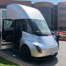 Tesla Semi Prototype Shows Up At Potentially Critical Customer ... Jb Hunt Profits Grow Significantly Due To The Tax Cuts And Jobs Drivejbhuntcom Straight Truck Driving At Fms Final Mile Services Co Youtube Dcs Hauling Live Chickens 356483 Flickr Countersued For 5 Million By Trucking Software Provider Freightliner Cascadia With Ag Feed Trailer 333044 Brand New J Intermodal Mid Roof Sleeper Shutterbug A Quick View Of The B Trucks Jb Hunt Intermodal Vaydileeuforicco
