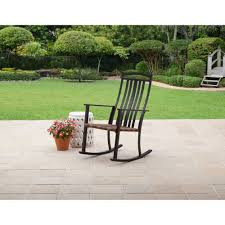 Shop All Outdoor Rocking Chairs - Walmart.com Mainstays Cambridge Park Wicker Outdoor Rocking Chair Folding Plush Saucer Multiple Colors Walmartcom Mahogany With Sling Back Natural 6 Foldinhalf Table Black Patio White Solid Wood Slat Brown Shop All Chairs