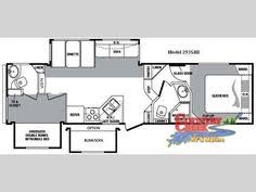Montana Fifth Wheel Floor Plans 2004 by Used 2004 Keystone Rv Cougar 314 Fifth Wheel At Country Creek Rv