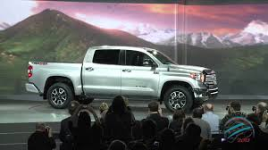 100 Toyota Full Size Truck Unveils 2014 Redesigned Tundra Pickup At 2013