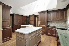 Kitchens With Dark Cabinets And Light Countertops by 43 Kitchens With Extensive Dark Wood Throughout