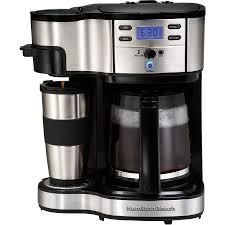 Keurig K75 Single Cup Home Brewing Hamilton Beach 2 Way Coffee Maker