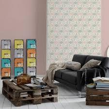 a s création vliestapete scandinavian 2 tapete geometrisch grafisch beige grau rosa