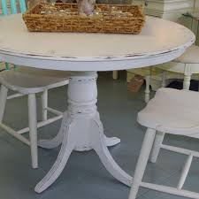 Distressed White Kitchen Table And Chairs | Painted ... Stylish Painted Round Ding Table And Chairs Otograph Ding Table 6 Chairs Choice Of Fabrics In Rochdale Classy Glass Top Room Sets With Royal Thrill Of The Hunt Ashland Va Gypsy Soul Pictures Of Painted Tables Ugarelay Excellent Diy Projects Chalk Paint Makeover Sarah Joy Fancy Wooden Pedestal Base Wood For In Lovely Annie Sloan Old Ochrecocodark Wax Paint Fniture 4 Se18 Ldon Fr 9000 Ne34 Tyneside For 13000 Chair 40 Phomenal Small Kitchen