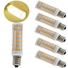 ulight e11 led light bulb 5w to 6w 60w 120v 130v halogen bulbs