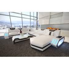 design canapé canapé clermont ac éclairage led nativo mobilier design