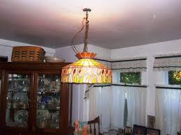 Image Of Stained Glass Dining Room Light Fixtures