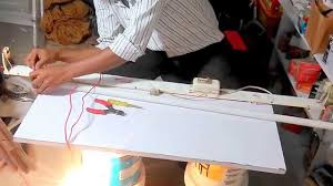 Non Shunted Lamp Holders Tombstones by How To Repair Fluorescent Lamp U0026 Change Holder Youtube