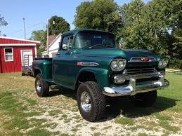 1959 Chevrolet (apache) 4x4 3600 Factory Napco Long Bed Step Side ...