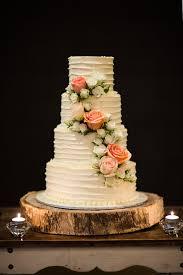 Elegant Foodie Wedding In Brisbane Rustic Cake