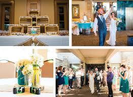 Knoxville Wedding At Tellico Village Yacht Club With Blue And Yellow Rustic Theme Photographed By