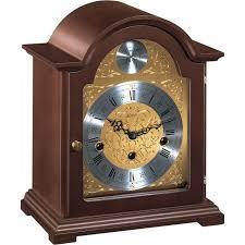Bulova Table Clocks Wood by Clocks Walnut Wood Frame Bulova Mantel Clocks For Home Decoration