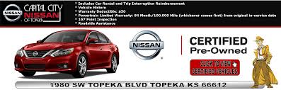 Nissan Dealership Topeka KS | Used Cars Capital City Nissan Of Topeka Home Summit Truck Sales Capital Trucking Topeka Ks Best Image Kusaboshicom Fleetpride Page Heavy Duty And Trailer Parts Ed Bozarth Chevrolet 1 Buick Gmc Kansas City Lawrence Briggs Dodge Ram Fiat New Fiat Dealership In 2017 Lifted Ford F150 Trucks Laird Noller Auto Group 2018 Ram 3500 Near Nissan Titan Ks Toyota Tacoma For Sale Lewis Parts Item Dn9391 Sold March 15 Competitors Revenue Employees Owler