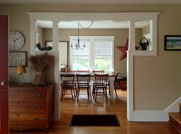 Glorious opening between rooms Craftsman bungalow The trim is